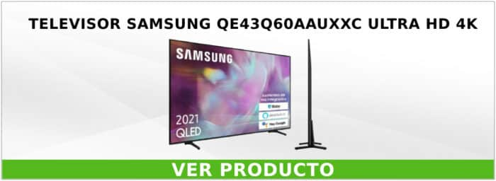 Televisor Samsung QE43Q60AAUXXC Ultra HD 4K