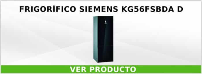 Frigorífico Siemens KG56FSBDA D