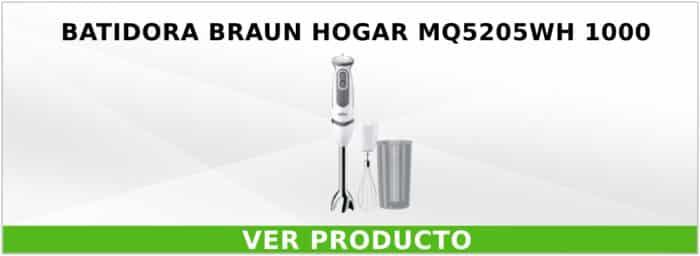 Batidora Braun Hogar MQ5205WH 1000