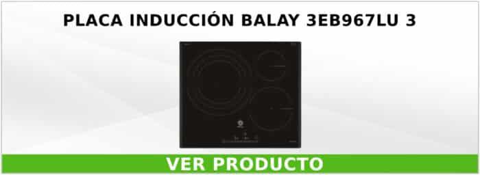 Placa inducción Balay 3EB967LU 3
