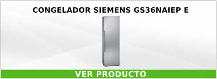 Congelador Siemens GS36NAIEP E