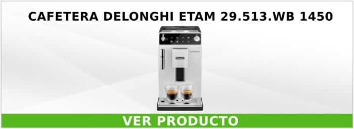 Cafetera DeLonghi ETAM 29.513.WB 1450