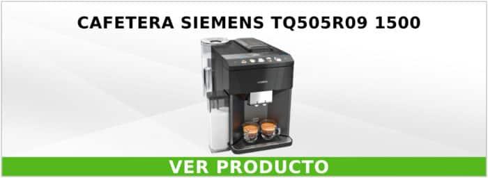 Cafetera Siemens TQ505R09 1500