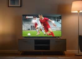 televisor ver futbol