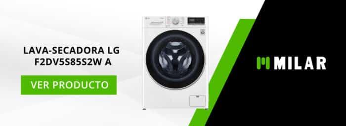 Lava-secadora LG F2DV5S85S2W A