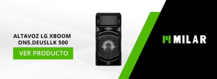 altavoz LG XBOOM ON5.DEUSLLK 500