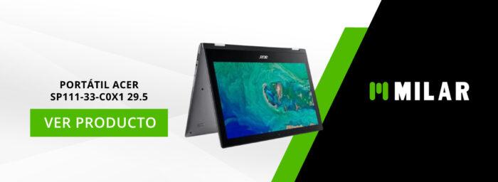 Portátil Acer SP111-33-C0X1 29.5
