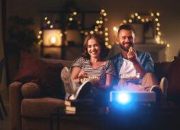 proyector o tv