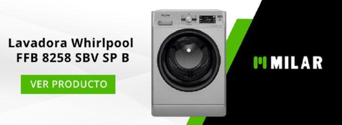 Lavadora Whirlpool FFB 8258 SBV SP B